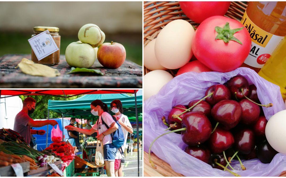 Piețe volante & agroalimentare de unde te poți aproviziona cu legume şi fructe