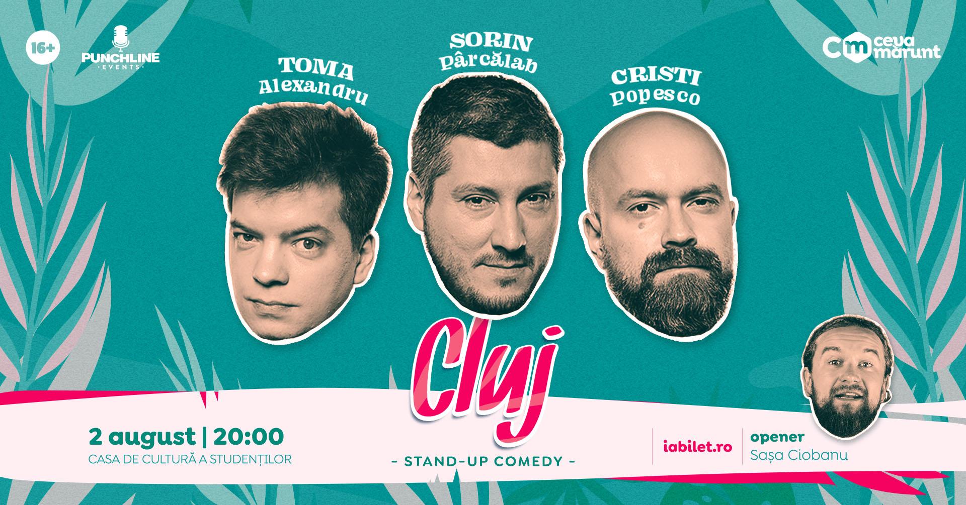 Stand-up comedy cu Toma, Cristi & Sorin