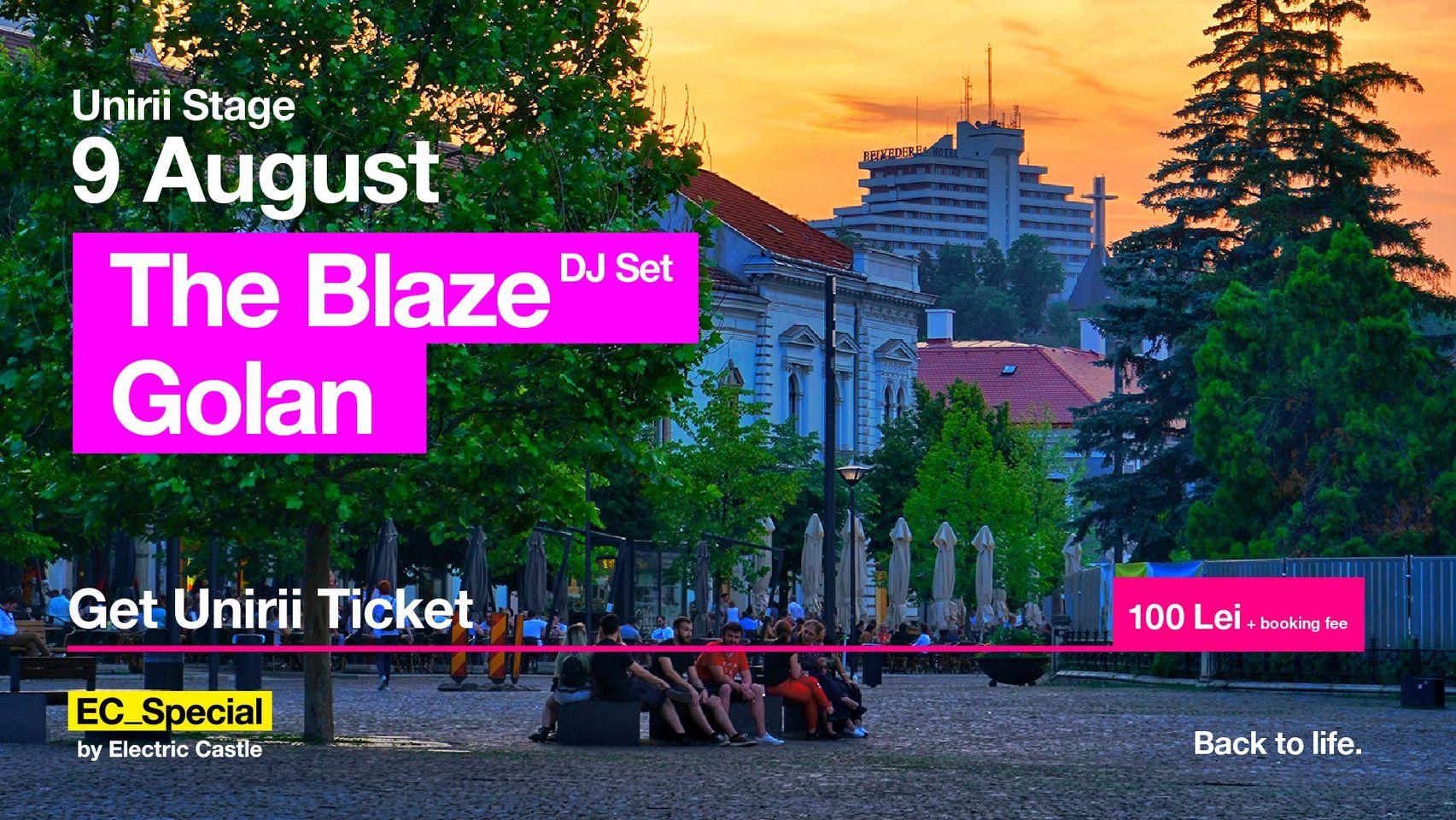 The Blaze DJset Golan @ EC_Special