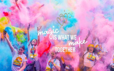 The Color Run Make Magic Cluj-Napoca powered by Kaufland