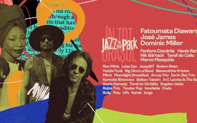 Fatoumata Diawara, Dominic Miller, José James și Fanfare Ciorcârlia la Jazz in the Park 2021