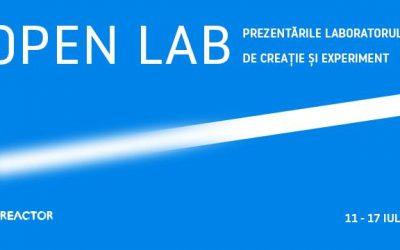 open lab – prezentările laboratorului de creație și experiment