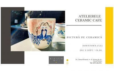 Atelier pictură pe ceramică @ Ceramic Cafe