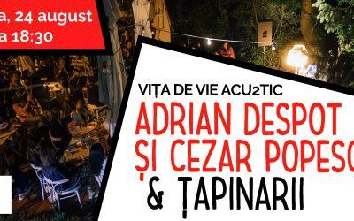 Concert Vița de vie Acu2tic & Țapinarii @ L'Autre Café