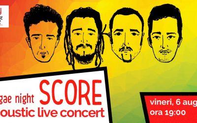 Concert live acustic – SCORE – Reggae night – @ L'Autre Caffee