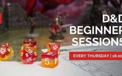 Dungeons & Dragons Beginner Sessions @ The Guild Hall