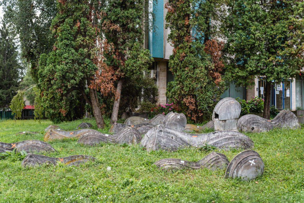 Grup Sculptural Ambiental de la Casa Radio Cluj