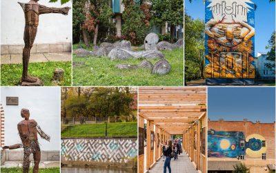 Lucrări de artă în spațiul public din Cluj-Napoca. Traseu de explorare