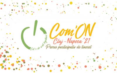 START Com'ON Cluj-Napoca '21. Minimum 45 de idei ale tinerilor clujeni pentru un oraș mai bun vor fi susținute financiar și puse în practică