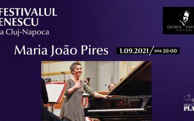 Recital Maria João Pires ✦ Festivalul Enescu la Cluj-Napoca