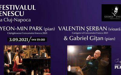 Recitaluri Yeon-Min Park și Valentin Șerban ✦ Festivalul Enescu la Cluj-Napoca