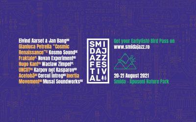 Imaginile se transformă în sunete la Smida Jazz Festival, pe 20 și 21 august. Line-up complet și activități în aer liber