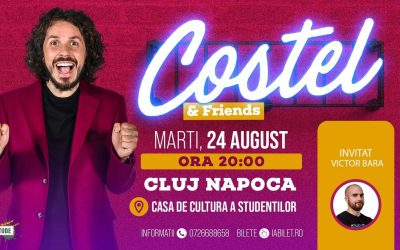 Stand Up Comedy COSTEL @ Cluj-Napoca