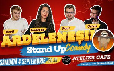 Stand-up Comedy cu Ardeleneșii @ Atelier Cafe