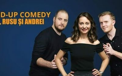 Stand-up Comedy cu Calita, Rusu si Andrei @ Cinema Florin Piersic