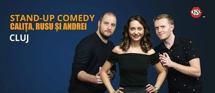 Stand-up Comedy cu Calita, Rusu si Andrei