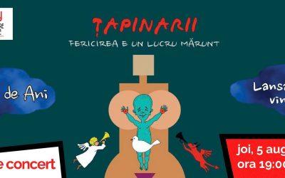 Tapinarii in Cluj   20 de ani   lansare vinyl