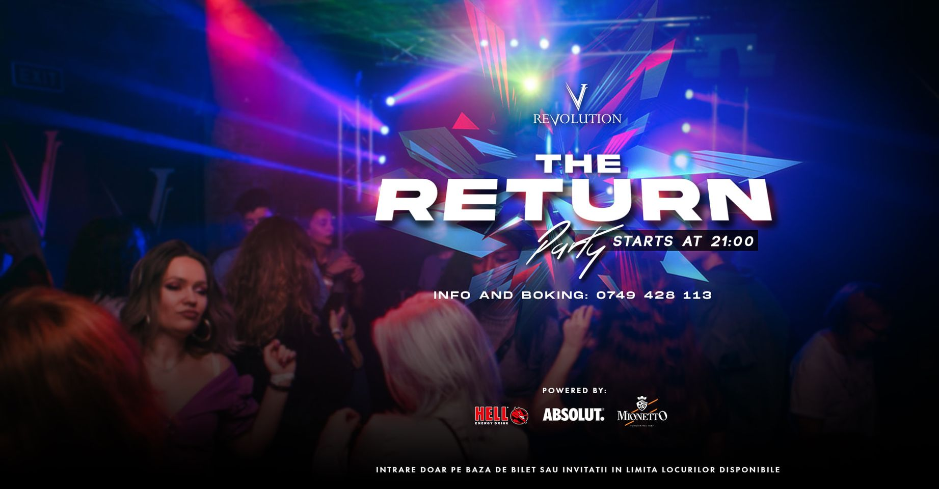 The Return to REVOLUTION Party
