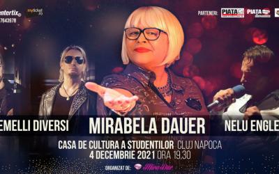 Concert MIRABELA DAUER @ Casa de Cultură a Studenților