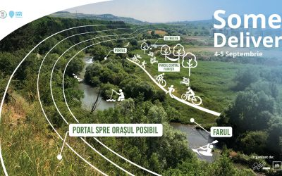 Someș Delivery 2021, prima ediție pe râul din Florești
