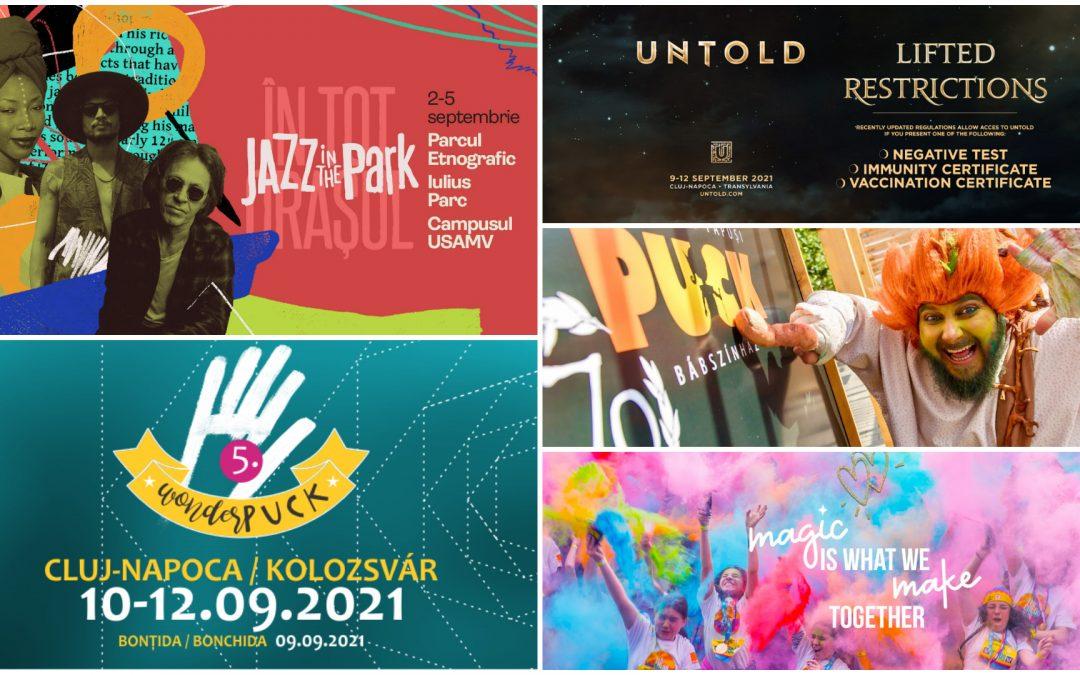 10 evenimente pe care nu trebuie să le ratezi în septembrie la Cluj