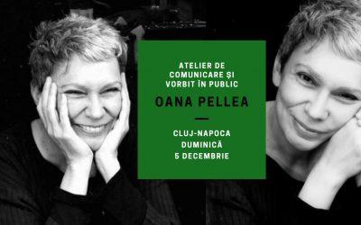 Atelier de comunicare și vorbit în public cu Oana Pellea @ Stables