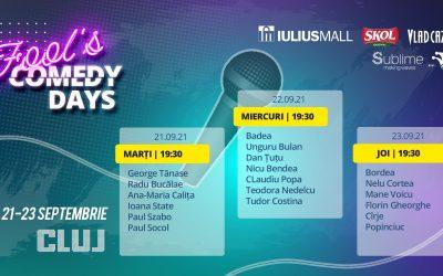 Fool's Comedy Days @ Iulius Parc Cluj-Napoca
