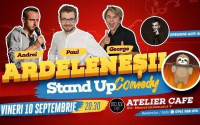 Stand-up Comedy cu Ardeleneșii, Invitat: Andrei Ungur @ Atelier Cafe