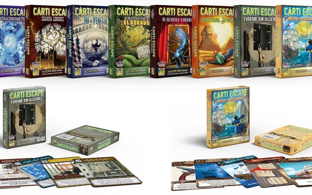 Jocuri de tip Escape Room și de investigație