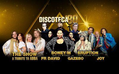 A 4-a ediție DISCOTECA '80 va avea loc sâmbătă, 18 septembrie