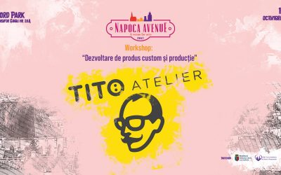 "Workshop: ""Dezvoltare de produs custom și producție"" w. Tito Atelier"