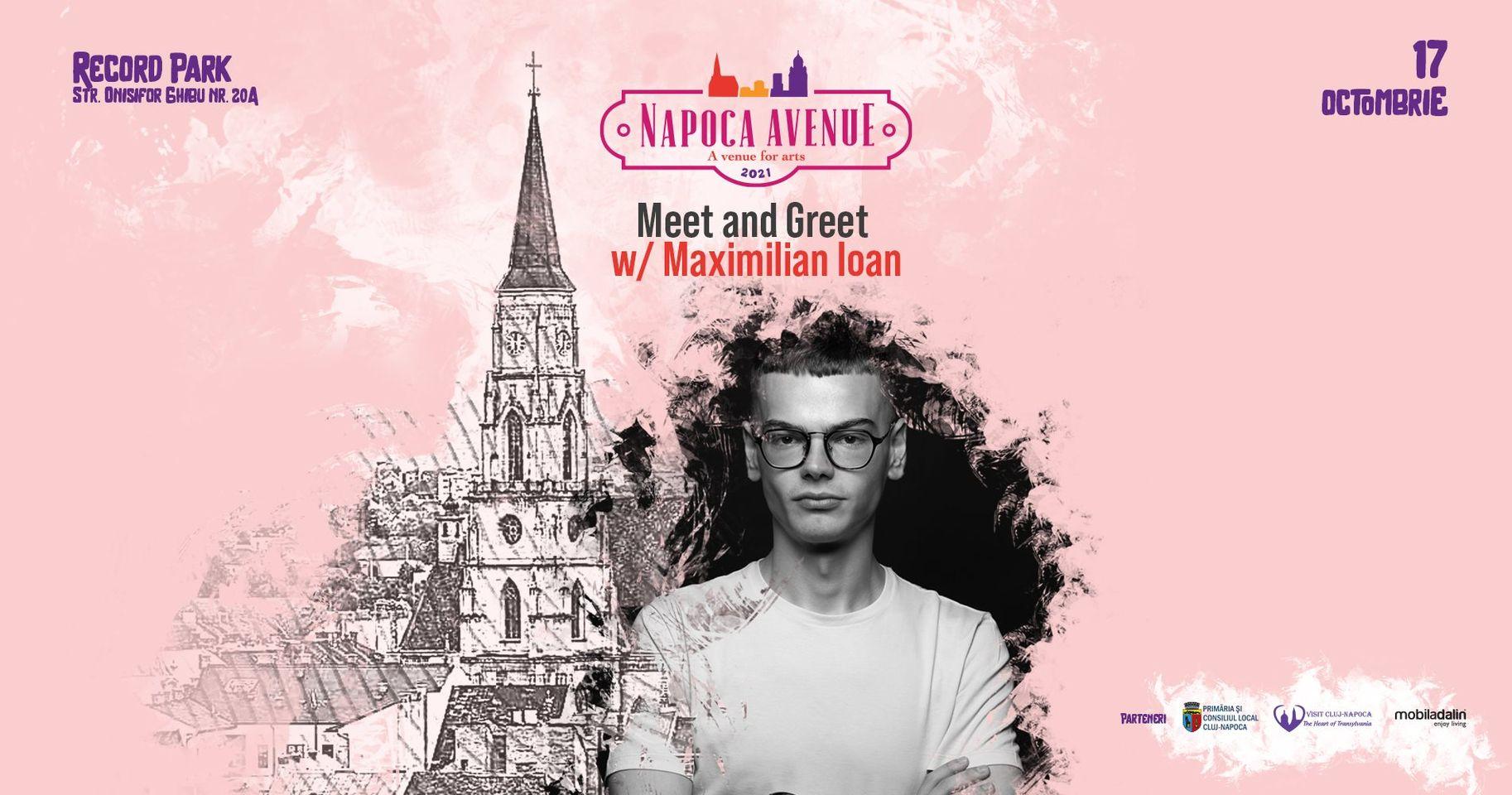 Meet and Greet w. Maximilian Ioan