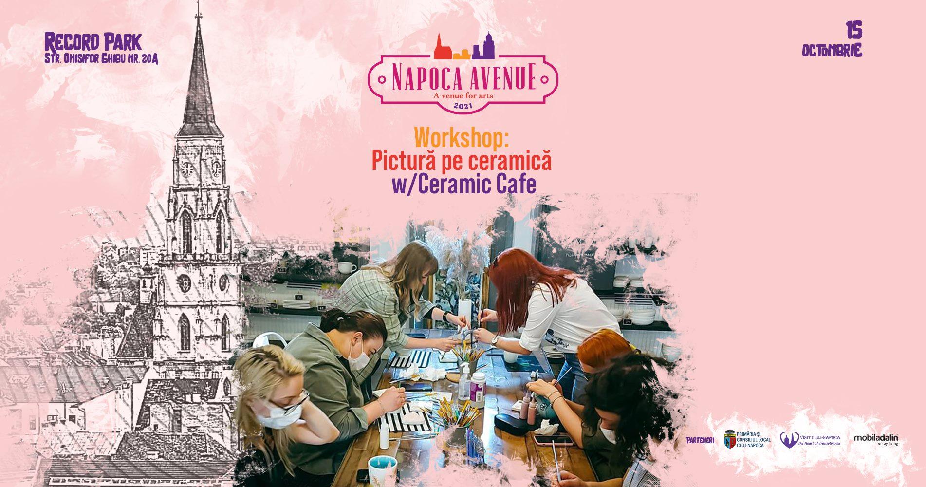 Workshop: Pictură pe ceramică w. Ceramic Cafe