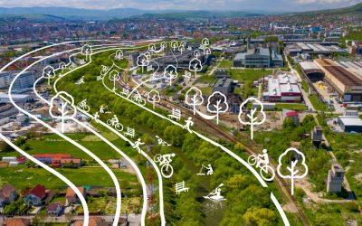 Someș Delivery ajunge în zona industrială a Clujului: spectacole, tururi ghidate, ateliere de reciclare, dezbateri despre Someș